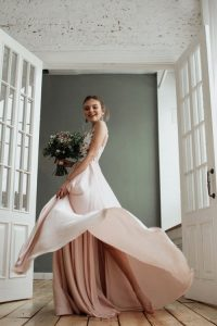 robe de mariage pastel