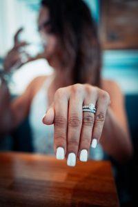 bague femme de mariage